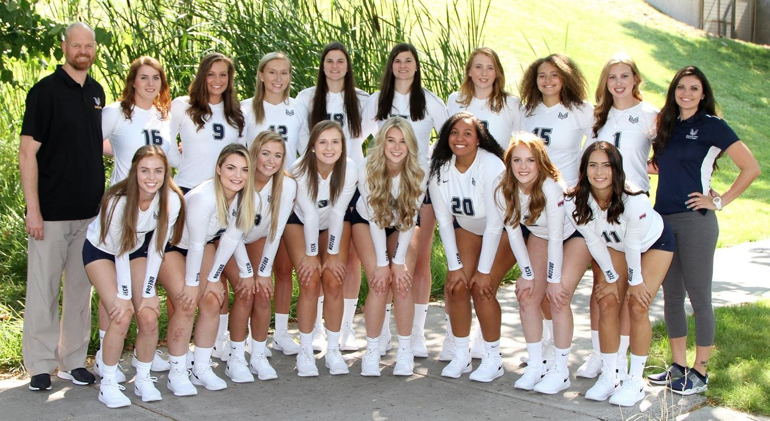 2018 Women S Volleyball Roster Oregon Institute Of Technology Athletics